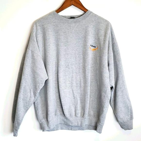Vintage Atlanta Embroidered Sweatshirt
